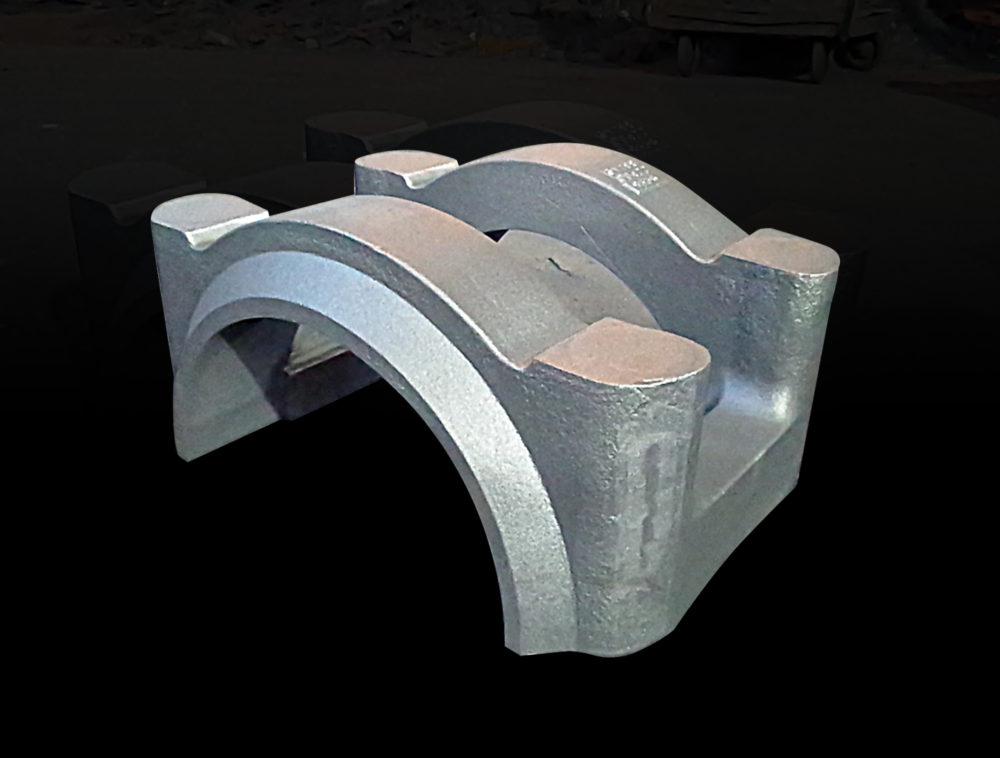 舶用部品 クロスヘッド軸受冠(各種船級受験対応)