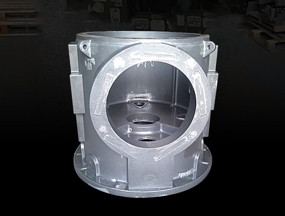 産業機械部品 雨水ポンプ用減速機ケース